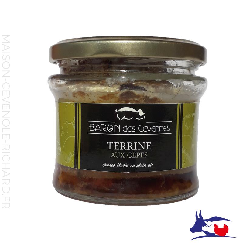 Terrine aux Cèpes - Baron des Cévennes