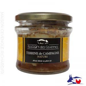 Terrine de Campagne - Baron des cévennes